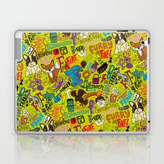 F Pattern Laptop & iPad Skin