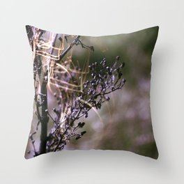 Violet Anns Lace Throw Pillow