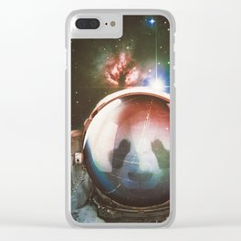 The Vulnerable Explorer Clear iPhone Case