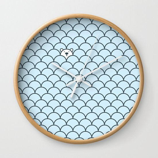 The Last Polar Bear Wall Clock
