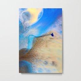 The Shore Metal Print