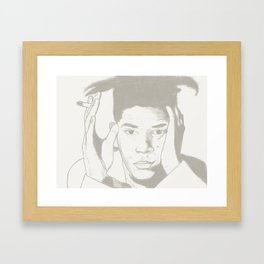 Radiant Child - Jean Michel Basquiat Framed Art Print
