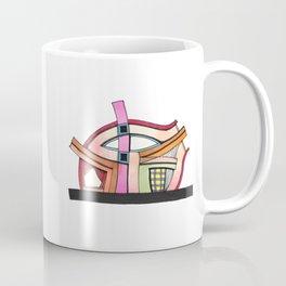 Abstract Theatre Architecture Art 50 Coffee Mug
