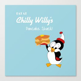 Chilly Willy Canvas Print