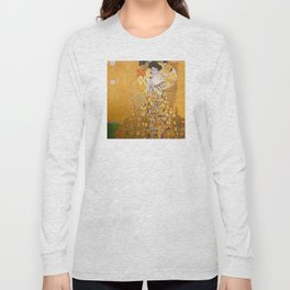 Gustav Klimt - The Woman in Gold Long Sleeve T-shirt