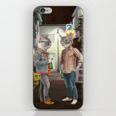 A Cats Night Out iPhone Skin