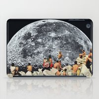 collage iPad Cases featuring MOONRISE  by Beth Hoeckel
