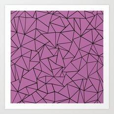 Ab Outline Bodacious Art Print