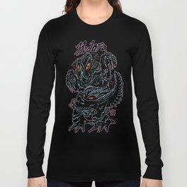 Hedorah Kaiju Print FC Long Sleeve T-shirt