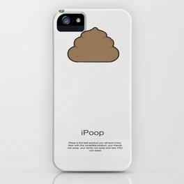 iPoop iPhone Case