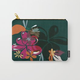 Emerald Forest, Emerald green Carry-All Pouch