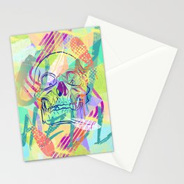 Oh Hell Sherbert Skull Stationery Cards