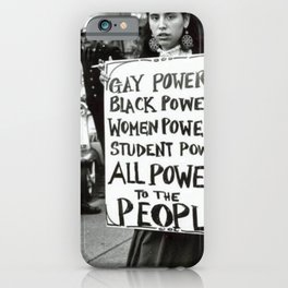 All Power To The People iPhone Case