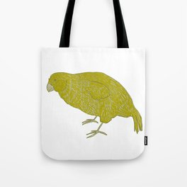 Kakapo Says Hello! Tote Bag