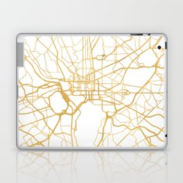 WASHINGTON D.C. DISTRICT OF COLUMBIA CITY STREET MAP ART Laptop & iPad Skin