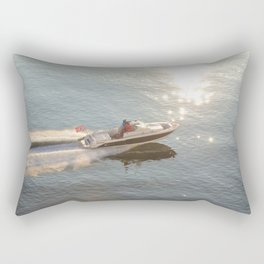 Into The Light Rectangular Pillow