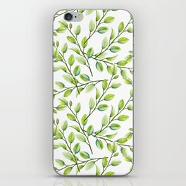 Branches and Leaves iPhone Skin
