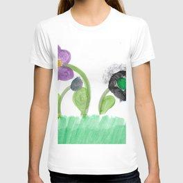 Flowers Family Watercolor T-shirt