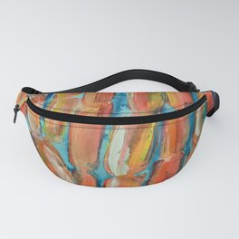 Coral Night of Sugarcane Fanny Pack