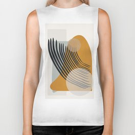 Abstract Shapes 33 Biker Tank