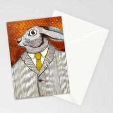 El conejo careta Stationery Cards