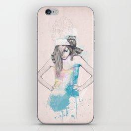 Raccoon Love iPhone Skin