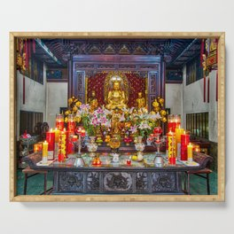 Ten Thousand Buddha Pagoda Serving Tray