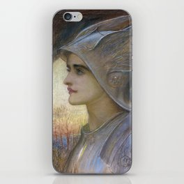 William Blake Richmond - St Joan Of Arc iPhone Skin
