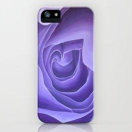 Crown Chakra Rose iPhone Case