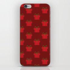 Christmas gift pattern iPhone & iPod Skin