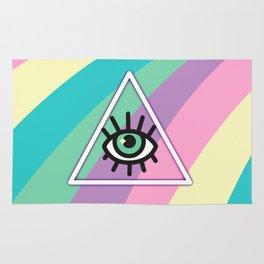 All Seeing Eye Rug
