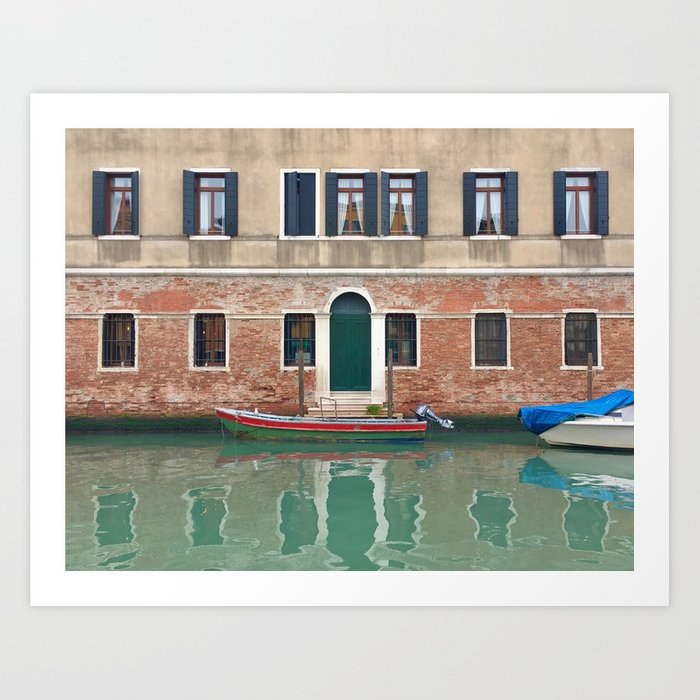 Waterfront Property Art Print by Melise - X-Small (s6-11492191p4a1v45) photo