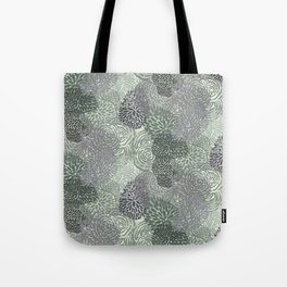 Green Growths Tote Bag