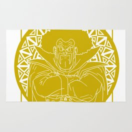 Stained glass - Dragonball - Hercule Rug