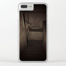 basement Clear iPhone Case