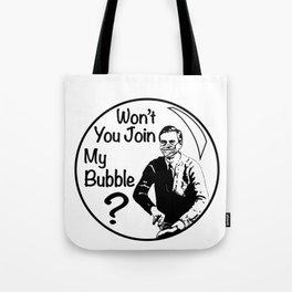 Mr. Rogers Pandemic Lockdown Quarantine Bubble Friendship Tote Bag