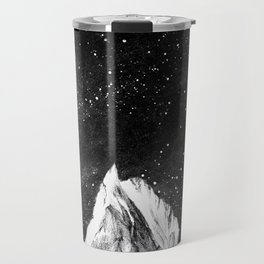 mont gore - mountain and star Travel Mug