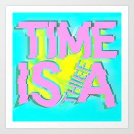 Glitch In Time: Thief Art Print