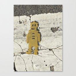 Flat Man Canvas Print