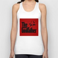 the godfather Tank Tops featuring The Godfather by SwanniePhotoArt