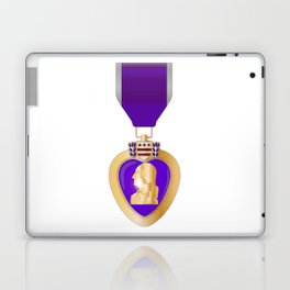 Purple Heart Medal Laptop & iPad Skin