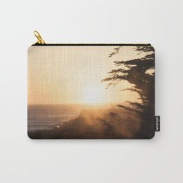 Misty sunset, Fort Bragg, Northern California Carry-All Pouch