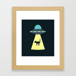 We Just Want The Cat Framed Art Print