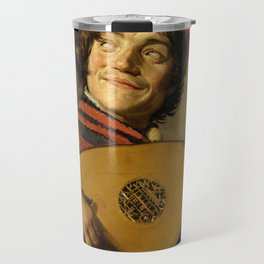 "Frans Hals ""The Lute Player"" Travel Mug"