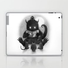 Story Time (black and white option) Laptop & iPad Skin