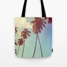 Vintage Palms Tote Bag