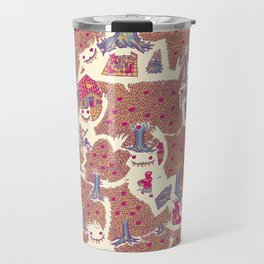The orchard is such a very silly place Travel Mug