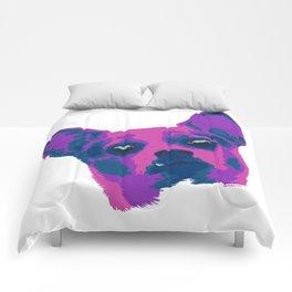 chihuahua - wht Comforters