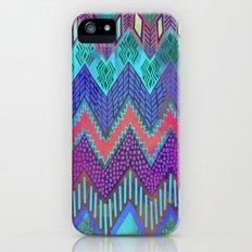 Tribal Chevron - Aqua iPhone (5, 5s) Slim Case