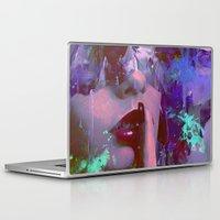 silent Laptop & iPad Skins featuring Keep silent by Joe Ganech